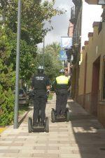 La Policía Local de Alcalá de Guadaira está probando «Segways» en el centro de la ciudad