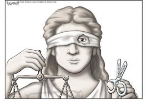 """Justicia """"no tan ciega"""" porque yo ya lo sé todo"""