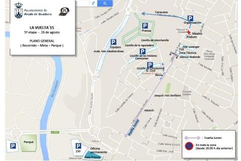 Dispositivo de tráfico para la llegada de la Vuelta Ciclista a España - Alcalá de Guadaíra - 2015