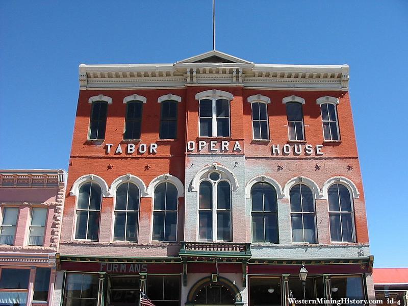 Tabor Opera House en Leadville - Colorado. Una de las 8 Opera House de la época que siguen activas.