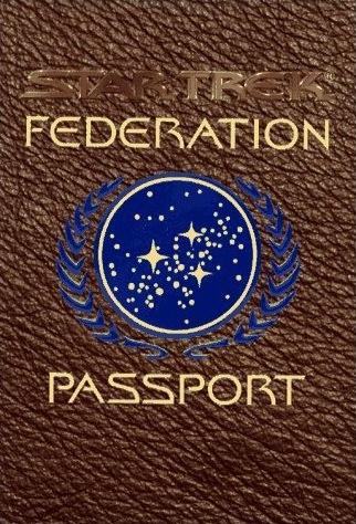 Pasaporte de la Federación Unida de Planetas - Star trek