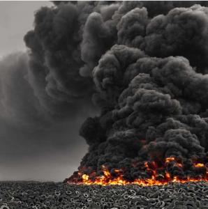 Incinerar neumáticos es mucho menos contaminante que quemarlos al aire libre. Está claro. Pero es mucho mejor que no los incineren justo al lado de nuestras viviendas. ¿O sí?
