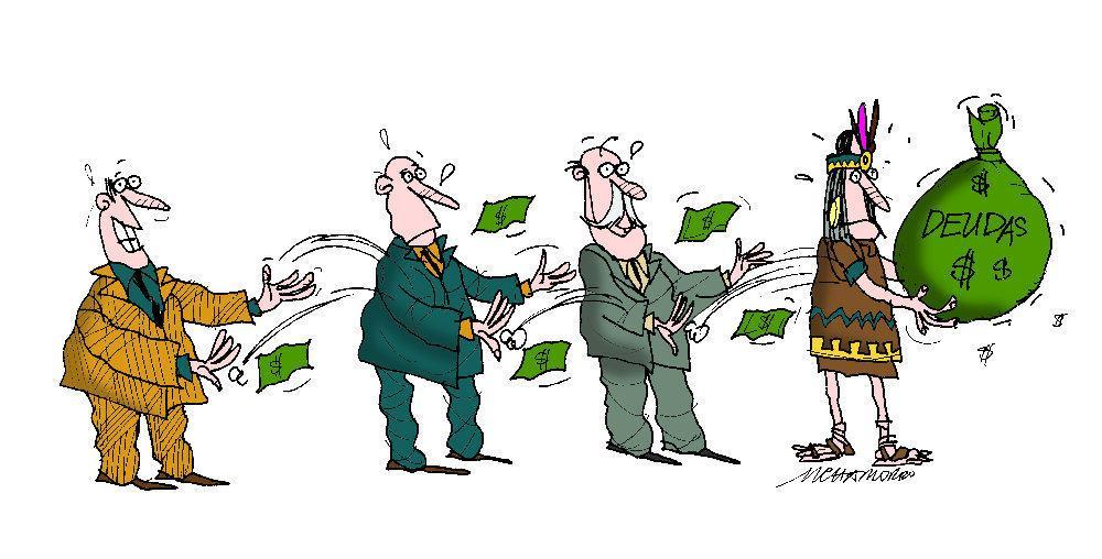 """Del los """"máximos responsables"""" al """"último indio"""", las deudas se heredan. ¿Quién es el máximo responsable de Alcalá y quién será el último indio""""???"""