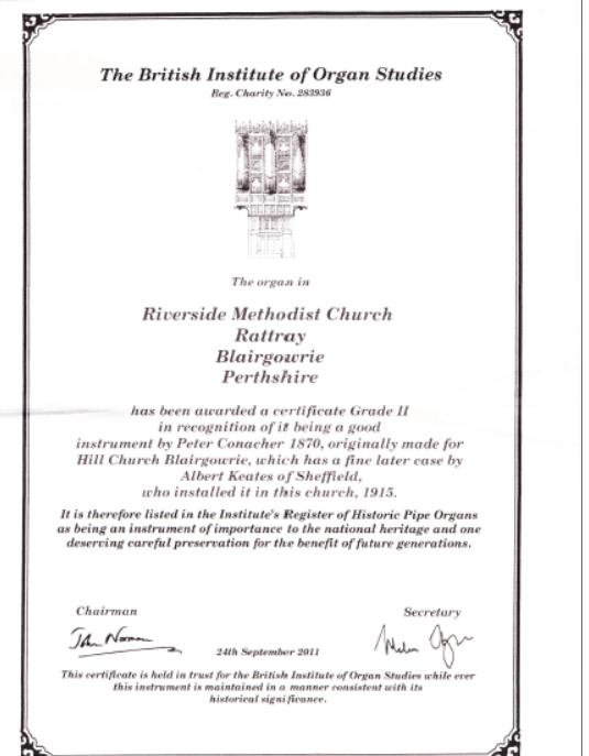 Certificado de tipo II