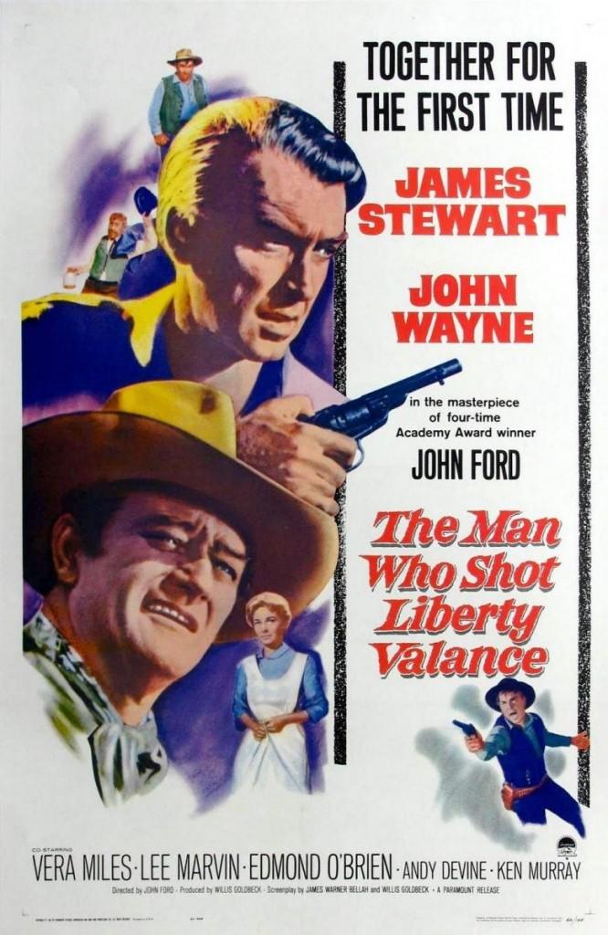 James Stewart llega a Senador cuando todo el mundo cree que él fue quien acabó con Liberty Valance, pero no fue él. Fue John Wayne (Siento el spoiler). ¿Habrá visto Juan Marín la película?