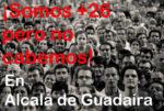 Alcalá está desbordada creciendo en sólo 26 habitantes al año